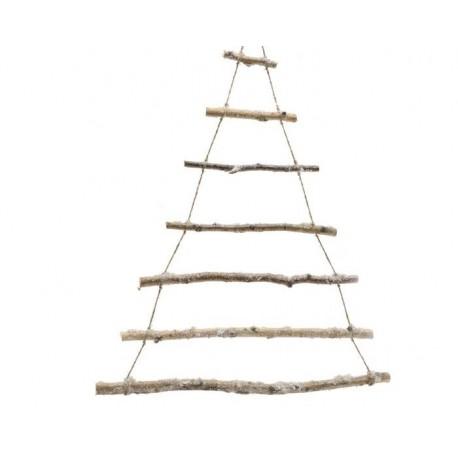 Albero stilizzato in legno 90 cm for Albero natale stilizzato