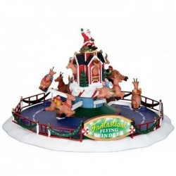 Reindeer On Holiday con Alimentatore 4.5V Cod. 64058