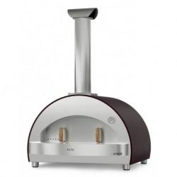 Alfapizza Forno per Pizza 4 PIZZE colore Grigio a Legna