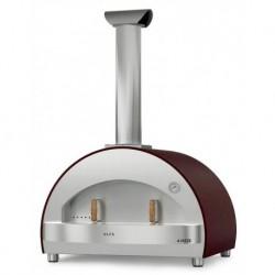 AlfaForni Forno per Pizza 4 PIZZE colore Rame a Legna
