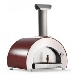 Alfapizza Forno per Pizza 5 MINUTI colore Rame a Legna