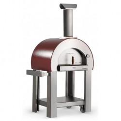AlfaForni Forno per Pizza 5 MINUTI con Base colore Rame a Legna