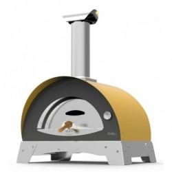 AlfaForni Forno per Pizza CIAO colore Giallo a Legna