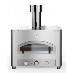 AlfaForni Forno per Pizza Professionale Compact Flame QUBO 90 a Gas Metano