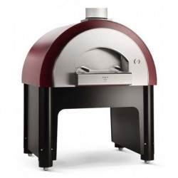 Alfapizza Forno per Pizza Professionale QUICK HYBRID con Base a Metano