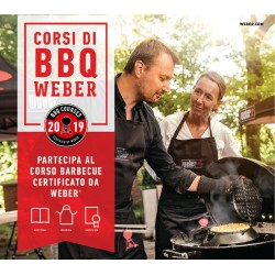 Corso Barbecue by Weber Steaks, Burgers and Smoking 18 maggio