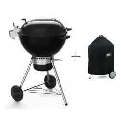 PROMO Barbecue Weber a Carbone Master-Touch Premium E-5770 Black Cod. 17301004 e Custodia Premium Cod. 7186