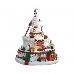 North Pole Tower, con Alimentatore 4.5V Cod. 84348