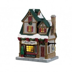 The Secret Santa Christmas Shoppe, B/O Led Cod. 95512