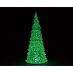 Crystal Lighted Tree, 3 Color Changeable, Large, B/O (4.5V) Cod. 94515
