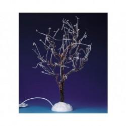Lighted Ice Glazed Tree, Clear, B/O (4.5V) Cod. 94994