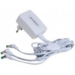 Alimentatore 4.5V 3 Uscite Bianco Cavo Fisso Gs Cod. 94564