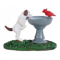 Bird Bath Dog Fountain Cod. 94535
