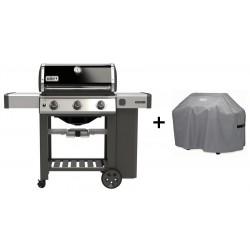 PROMO Barbecue Weber a Gas Genesis II E-310 Black GBS Cod. 61011129 e Custodia Standard Cod. 7179