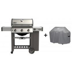 PROMO Barbecue Weber a Gas Genesis II S-310 Inox GBS Cod. 61001129 e Custodia Standard Cod. 7179