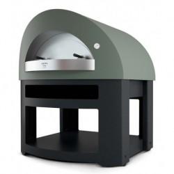 AlfaForni Forno per Pizza Professionale OPERA HYBRID a Gas Metano con Base