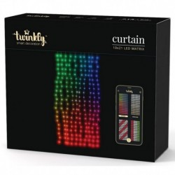 Twinkly CURTAIN Luci di Natale Smart 210 Led RGB WiFi