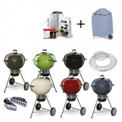 Barbecue a Carbone Master Touch 2016 Weber PROMO (con Custodia e Kit Ciminiera)