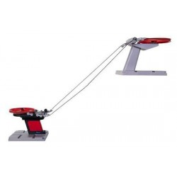 Ski Lift Basic con Base Nero/Rosso