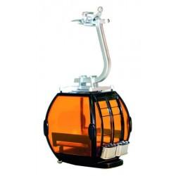Cabina Omega per SKy Lift Nero/Arancio