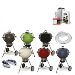Barbecue a Carbone Master Touch Weber PROMO (con Kit Ciminiera)