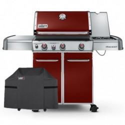 Barbecue a Gas Genesis E-330 GBS Crimsom Red Weber Cod. 6533529 PROMO