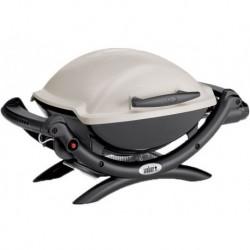 Barbecue a Gas Q 1000 (con Attacco per Cartuccia) Titanium Weber Cod. 50060053