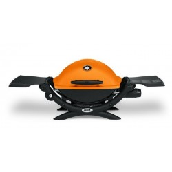 Barbecue a Gas Q 1200 (con Attacco per Cartuccia) Orange Weber Cod. 51190053