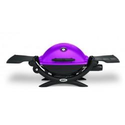Barbecue a Gas Q 1200 (con Attacco per Cartuccia) Fuschia Weber Cod. 51210053