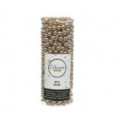 Ghirlanda di perle in plastica Beige dim 0.8x1000 cm