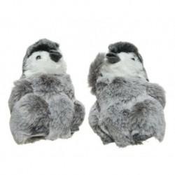 Pinguini Grigio dim 9x9x13 cm Pezzo Singolo