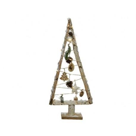 Albero di Natale stilizzato luminoso Naturale dim 8.5x30x67 cm