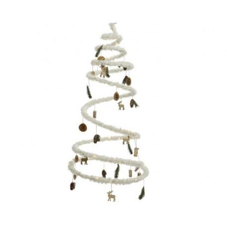 Albero di Natale Luminoso Bianco dim 58 cm