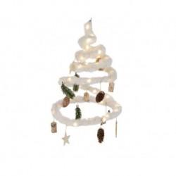 Albero di Natale Luminoso Bianco dim 28 cm