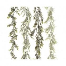 Ghirlanda per addobbi di Natale Verde dim 4x180 cm Pezzo Singolo