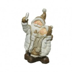 Babbo Natale Cream dim 25.5x24.5x45 cm