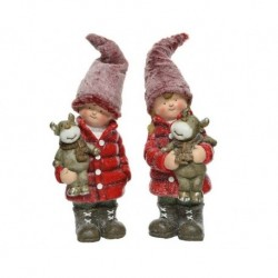 Bambini in piedi Rosso dim 22x20.5x45 cm 23.5x18x43 cm Pezzo Singolo