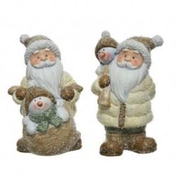 Babbo Natale dim 10.5x10.5x17 cm 9x9x17.5 cm Pezzo Singolo