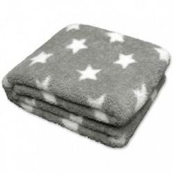 Plaid Stars Throw 150 x 200 cm Colore Grey