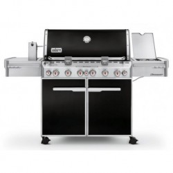 Barbecue Weber a Gas Summit E-670 GBS Black Cod. 7371029
