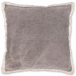 Cuscino Aiko 45 x 45 cm Colore Nickel Grey