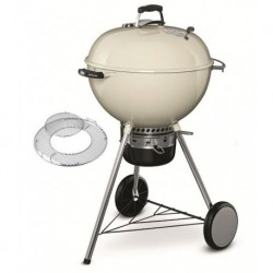 Barbecue Weber a Carbone Master-Touch 57 cm GBS Ivory White Cod. 14505004