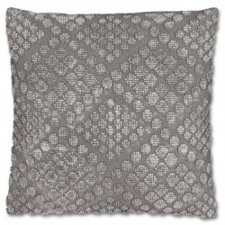 Cuscino Dotty 45 x 45 cm Colore Nickel Grey