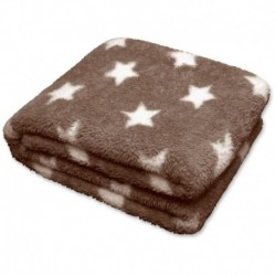 Plaid Stars Throw 150 x 200 cm Colore Warm Taupe