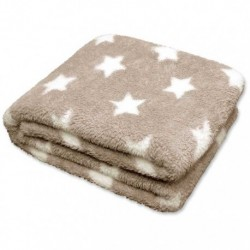 Plaid Stars Throw 150 x 200 cm Colore Sand