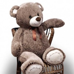 Orso di Peluche King Size h140 cm Colore Brown