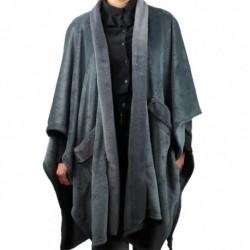 Mantella Calda Gaby Throw 125 x 175 cm Colore Dark Grey