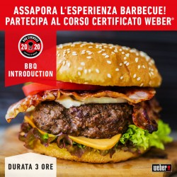 Corso Barbecue BBQ BURGER INTRODUCTION by Weber 18 Aprile 2020