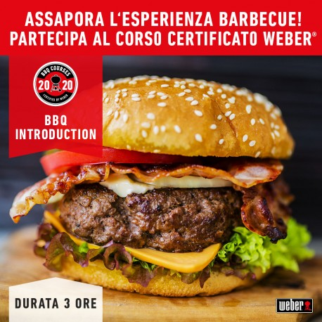 Corso Barbecue BBQ BURGER by Weber 18 Aprile 2020
