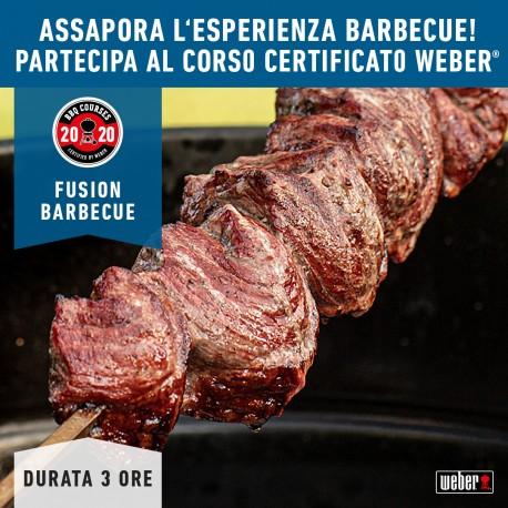 Corso Barbecue FUSION BARBECUE by Weber 21 Marzo 2020
